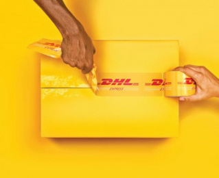 DHL: Ripped [alternative] Print Ad by Grey Bangalore