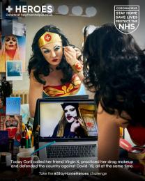 Heroes: #StayHomeHeroes, 5 Digital Advert by Iris London