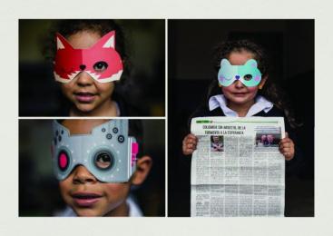 Amblyopia World Campaign: I Rescue, 2 Design & Branding by VML Bogota