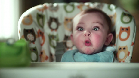 Pampers: Poo Face Film by Great Guns Ltd, Saatchi & Saatchi London