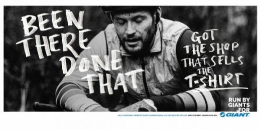 Giant Bicycles: Run By Giants For Giant, 7 Print Ad by Rees Bradley Hepburn (RBH)