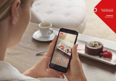 Vodafone: Sweet Print Ad by Grey United Milan