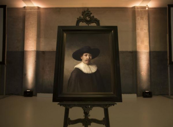 ING: The Next Rembrandt [image] 2 Outdoor Advert by Brenninkmeijer & Isaacs, J. Walter Thompson Amsterdam