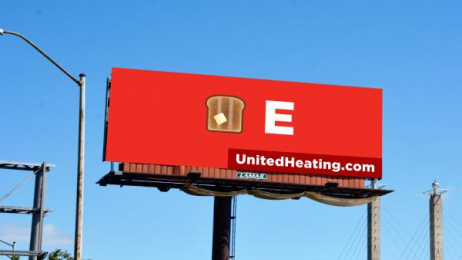 United Heating & Cooling: Toasty Outdoor Advert by Trozzolo Kansas City