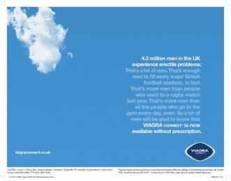 Viagra: Sports Print Ad by Y&R London