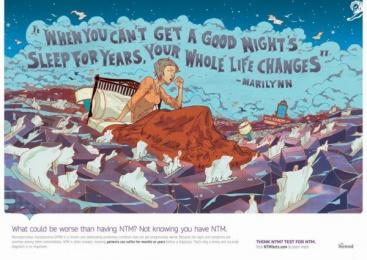 Insmed: Marilynn Print Ad by Area 23 New York, FCB Health, J. Walter Thompson New York