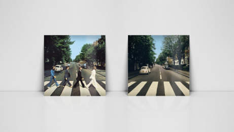Volkswagen: Abbey Road with Park Assist, 7 Print Ad by DDB Stockholm