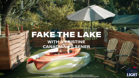 Labatt Blue: Fake It Til You Lake It, 2 Film by Burns Group, New York, USA