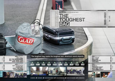 Glad: The Toughest Bag [Supporting Images] Direct marketing by FCB Chicago