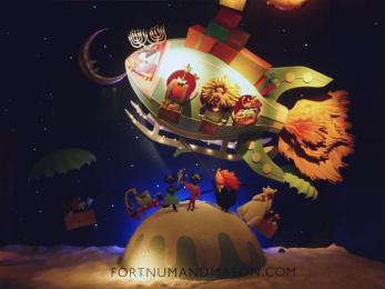 Fortnum & Mason: Christmas Windows, 18 Outdoor Advert by Otherway