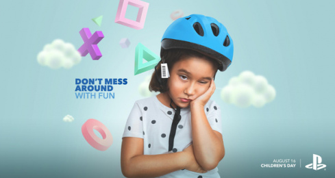 Sony Playstation: Children's Day: Don't Mess Around With Fun Print Ad by WILD FI