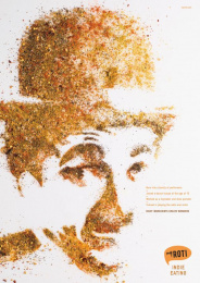 My Roti: Charlie Chaplin Print Ad by Havas Worldwide Muscat
