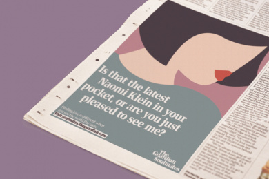 The Guardian: Playing Cupid For The Ideologically Suited, 8 Print Ad by Oliver Group UK