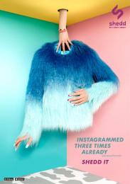 Shedd: POPPY LISSIMAN PRINT 1 Print Ad by Grey Melbourne, Velvet