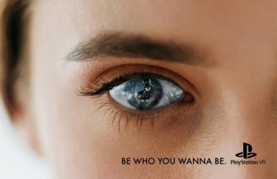 Sony Playstation: Be Who You Wanna Be, 1 Print Ad by S.I. Newhouse School of Public Communications Syracuse New York