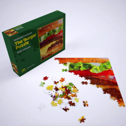 McDonald's: The Burger Puzzle, 3 Direct marketing by TBWA, Belgium