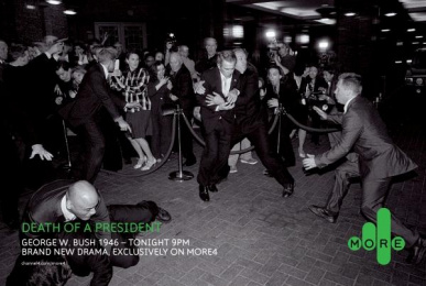 Death Of A President Tv Programme: DEATH OF A PRESIDENT Print Ad by 4creative