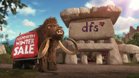 DFS: Search for Comfort Film by Aardman Animations, Krow Communications