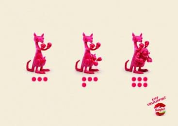 Babybel: Kangaroo Print Ad by H&C Leo Burnett Beirut