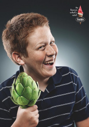 Freddo: Kids and Vegetables, 1 Print Ad by Y&R Buenos Aires