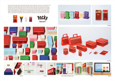Pocky THE GIFT: Pocky THE GIFT, 6 Print Ad by Dentsu Inc. Tokyo, ENGINE FILM Tokyo