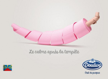 Doulux: Spicy Print Ad by Havas Reunion