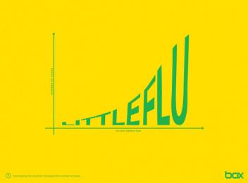 Box Comunicação: Little flu in brazil Print Ad by Box Goiania Brazil