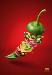 McDonald's: Jalapeno Burger Print Ad by DDB Wien