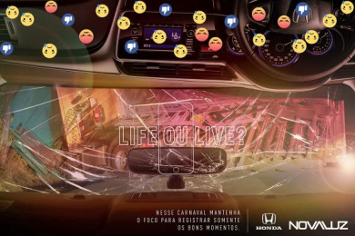 Honda: Honda Print Ad by Team collaboration