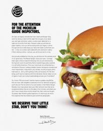 Burger King: Master Burger, 3 Print Ad by Buzzman