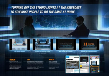 Copel: NEWSCASTS IN THE DARK Direct marketing by Master Comunicacao