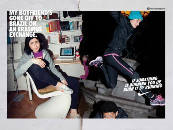 Nike: Run Madrid, Bel Print Ad by Villar & Rosas