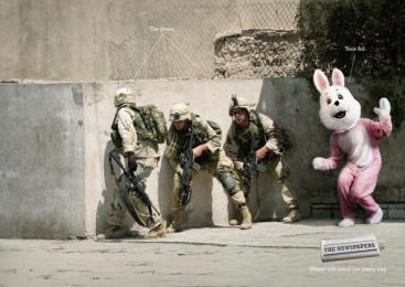 Zmg: Bunny Print Ad by Ogilvy & Mather Frankfurt