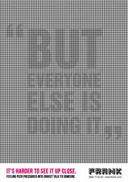 FRANK: The Illusion of Peer Pressure, 1 Print Ad