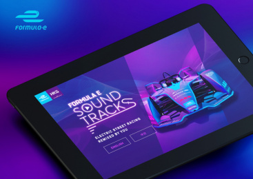 Formula E: Sound Tracks Print Ad by TBWA\Hong Kong