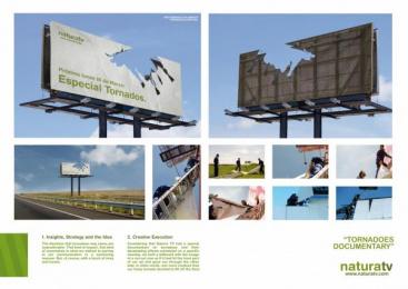 NATURATV: TORNADO Outdoor Advert by Ruiz Nicoli