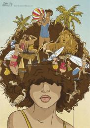Wella Hair Care: BRUNETTE Print Ad by DraftFCB Tel Aviv