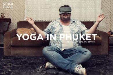 Dnata Travel: Yoga Print Ad by Good People Beirut, TBWA\RAAD Dubai