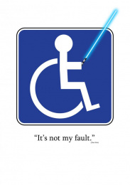 ACC Grannot: Disabled Parking Spot Print Ad by Acc Granot Israel