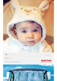 Mapfre: Baby Print Ad by Talent Marcel
