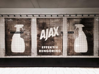Ajax: AJAX, stronger than dirt! 2 Outdoor Advert by ANR BBDO Stockholm