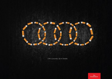 The Economist: Audi Print Ad by Miami Ad School Miami