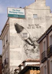 Bancaja: BLACK ROCKET Outdoor Advert by Remo