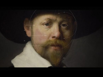 ING: The Next Rembrandt, 2  Outdoor Advert by J. Walter Thompson Amsterdam, Kreukvrij