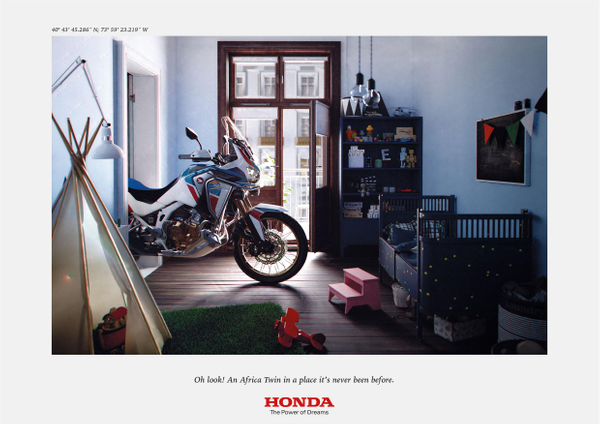 Africa Twin At Home, 2