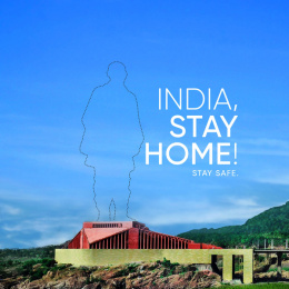 United Nations: World, Stay Home! - India Digital Advert by L&K Saatchi & Saatchi Mumbai
