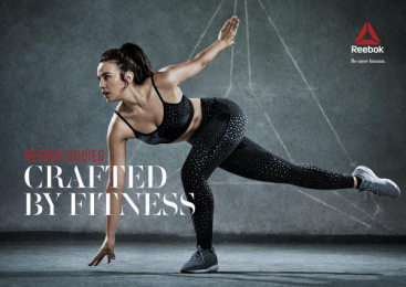 Reebok: Crafted by Fitness, 3 Print Ad by Manifiesto, Petra Garmon