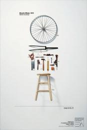 Panamericana - Art And Design School: Bicycle Wheel Print Ad by ALMAP BBDO Brazil