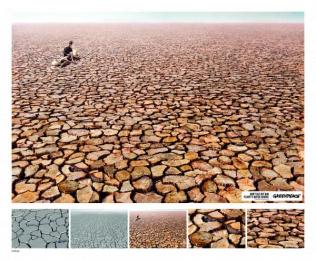 Greenpeace: Drought, 2 Print Ad by Hakuhodo Malaysia