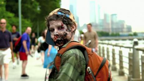 Amc: Zombie Experiment Film by Thinkmodo